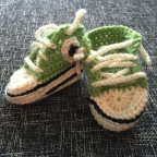 Crochet Baby Converse All Stars!
